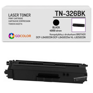 Toner do BROTHER TN-326BK Black Zamiennik