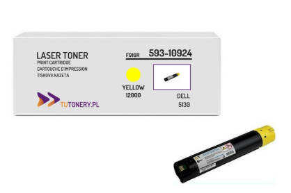 Toner do DELL 5130 P614K Yellow Zamiennik