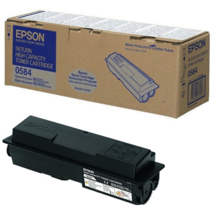 Epson oryginalny toner C13S050584 black  high capacity Aculaser M2400 MX20 return