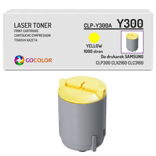 Toner do SAMSUNG CLP300 CLP-Y300A Yellow Zamiennik