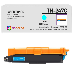 Toner do BROTHER TN-247C Cyan Zamiennik