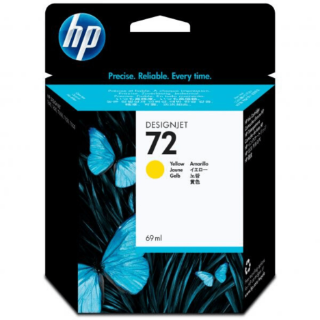HP oryginalny Tusz C9400A 72 yellow