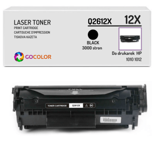 Toner do HP Q2612X 12X 1010 1012 Zamiennik