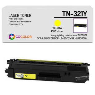 Toner do BROTHER TN-321Y Yellow Zamiennik