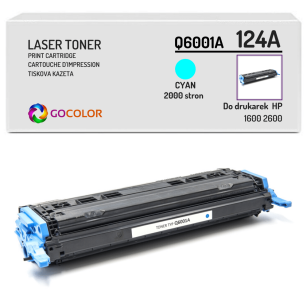 Toner do HP Q6001A 124A 1600 2600 Cyan Zamiennik