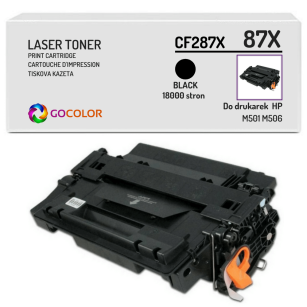 Toner do HP CF287X 87X M501 M506 Zamiennik