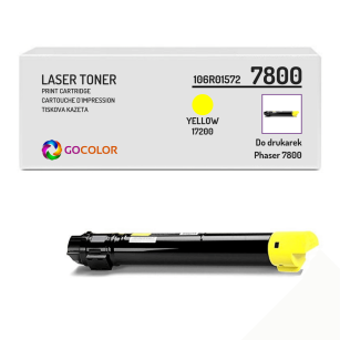Toner do XEROX 7800 106R01572 Yellow Zamiennik