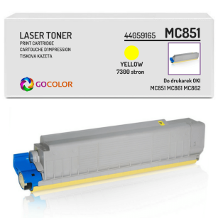 Toner do OKI MC851 MC861 MC862 dn, cdtn, cdxn, 44059165 Yellow zamiennik