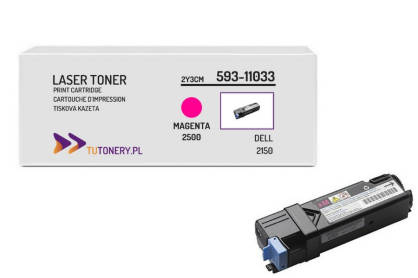 Toner do DELL 2150 2155 8WNV5 Magenta Zamiennik