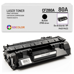 Toner do HP CF280A 80A M401 M425 Zamiennik
