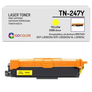 Toner do BROTHER TN-247Y Yellow Zamiennik