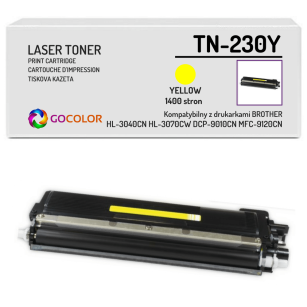 Toner do BROTHER TN-230Y Yellow Zamiennik