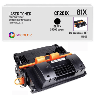 Toner do HP CF281X 81X M605 Zamiennik
