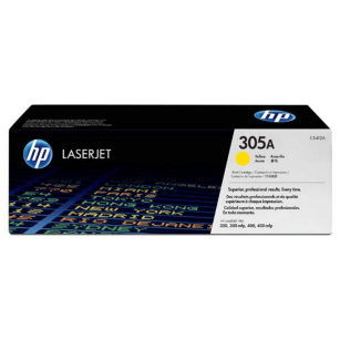 HP oryginalny toner CE412A yellow 305A
