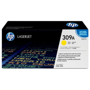 HP oryginalny toner Q2672A yellow 309A