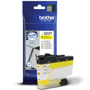 Brother oryginalny Tusz LC-3237Y yellow