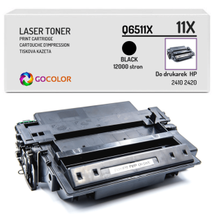 Toner do HP Q6511X 11X 2410 2420 Zamiennik