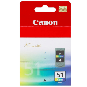 Canon oryginalny Tusz CL51 color 3x7ml 0618B001
