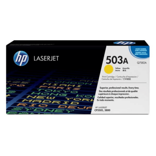 HP oryginalny toner Q7582A yellow 503A