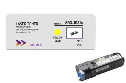 Toner do DELL 2130 2135 FM065 Yellow Zamiennik