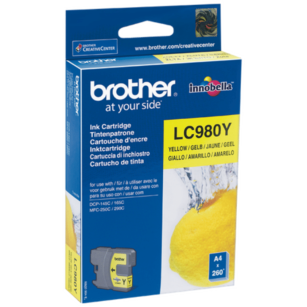 Brother oryginalny Tusz LC-980Y yellow