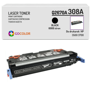 Toner do HP Q2670A 308A 3500 3700 Black Zamiennik