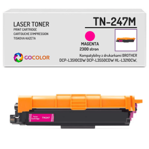 Toner do BROTHER TN-247M Magenta Zamiennik