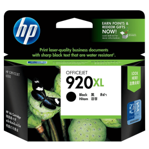 HP oryginalny Tusz CD975AE 920XL black 1200s OfficeJet 6000 6500 7000 7500
