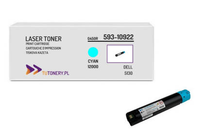 Toner do DELL 5130 T222N Cyan Zamiennik