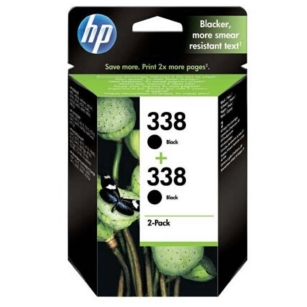 HP oryginalny Tusz CB331EE 338 black 900 (2x450)s 2x11ml 2-Pack C8765EE PSC 1610 OfficeJet 6210 DeskJet 6840