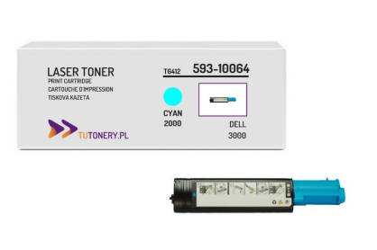 Toner do DELL 3000 3100 KT6412 Cyan Zamiennik