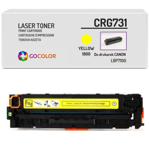 Toner do CANON CRG731 6269B002 Yellow Zamiennik