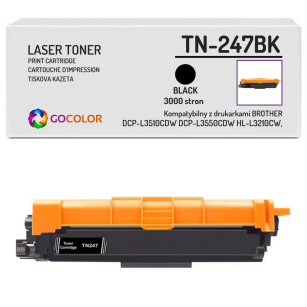 Toner do BROTHER TN-247BK Black Zamiennik