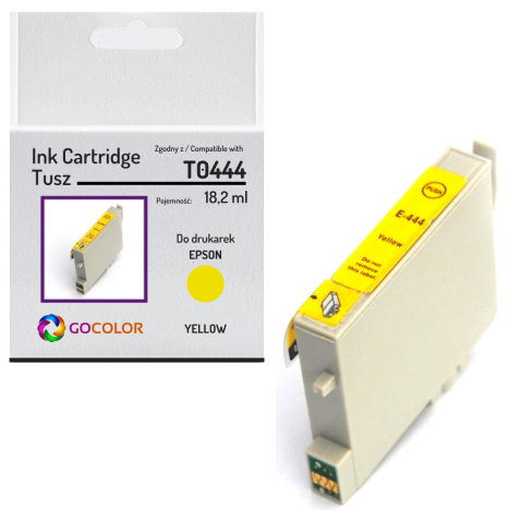 Tusz do EPSON T0444 Yellow Zamiennik