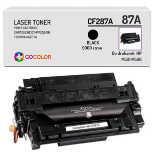 Toner do HP CF287A 87A M501 M506 Zamiennik