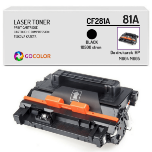 Toner do HP CF281A 81A M604 M605 Zamiennik
