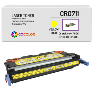 Toner do CANON CRG711 1657B002 Yellow Zamiennik