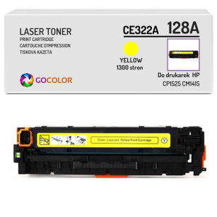 Toner do HP CE322A 128A CP1525 CM1415 Yellow Zamiennik