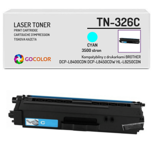 Toner do BROTHER TN-326C Cyan Zamiennik