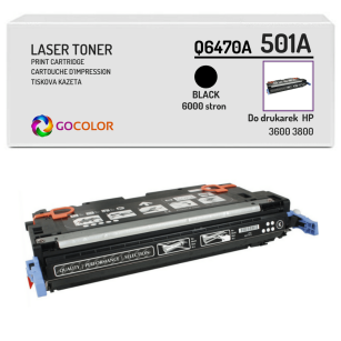 Toner do HP Q6470A 501A 3600 3800 Black Zamiennik