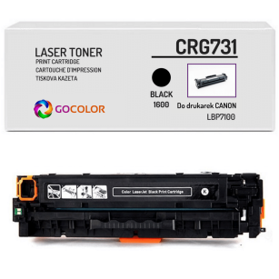 Toner do CANON CRG731 6272B002 Black Zamiennik