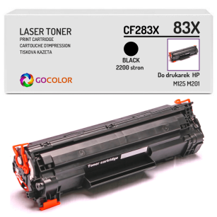 Toner do HP CF283X 83X M125 M201 Zamiennik