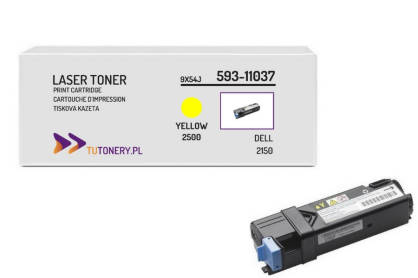 Toner do DELL 2150 2155 NPDXG Yellow Zamiennik