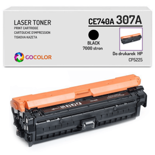 Toner do HP CE740A 307A CP5225 Black Zamiennik