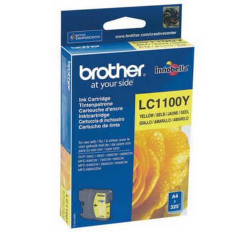 Brother oryginalny Tusz LC-1100Y yellow