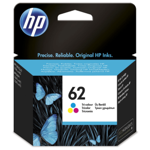 HP oryginalny Tusz C2P06AE 62 kolorowy Envy 5540 5545 5640 5660 5665 7640 OfficeJet 250 Mobile