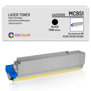 Toner do OKI MC851 MC861 MC862 dn, cdtn, cdxn, 44059168 Black zamiennik