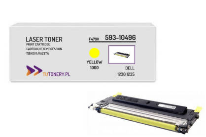 Toner do DELL 1230 1235 593-10496 Yellow Zamiennik