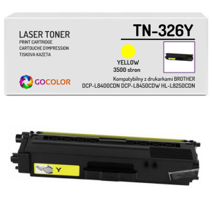 Toner do BROTHER TN-326Y Yellow Zamiennik