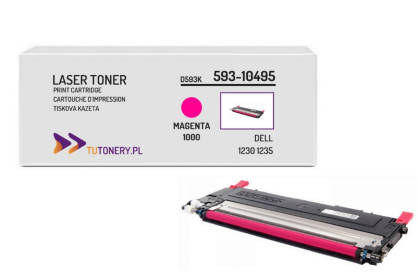 Toner do DELL 1230 1235 593-10495 Magenta Zamiennik